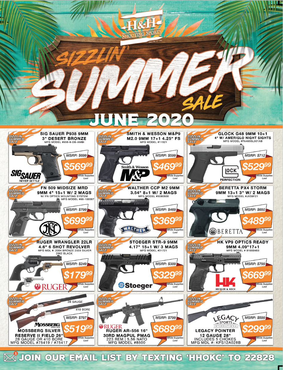 June 2020 Sales Flyer Page 1